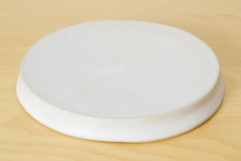 直井真奈美|白円盤プレート(16cm)