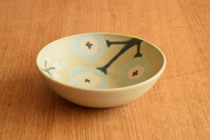 沖澤 真紀子|グリーンHana Bowl(S) hanaシリーズ、ボウルも素敵です。