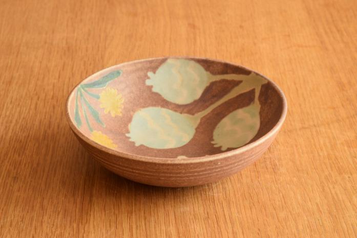 沖澤 真紀子|ピンクHana Bowl(S)