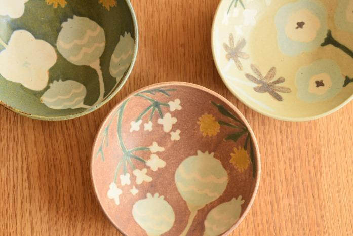 沖澤 真紀子|ピンクHana Bowl(S) 色違い