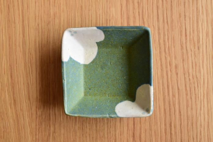 沖澤 真紀子|角豆皿(花)