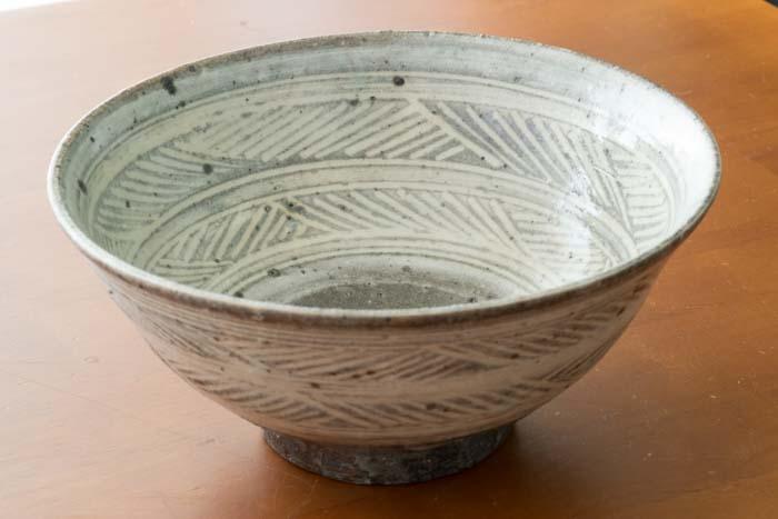八田亨|麺鉢(三島手)