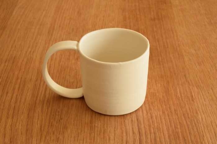 照井壮|粗磁土マグカップ