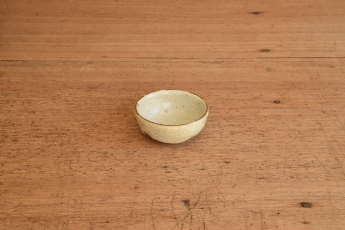 中村恵子|粉引バスク鉢(豆)