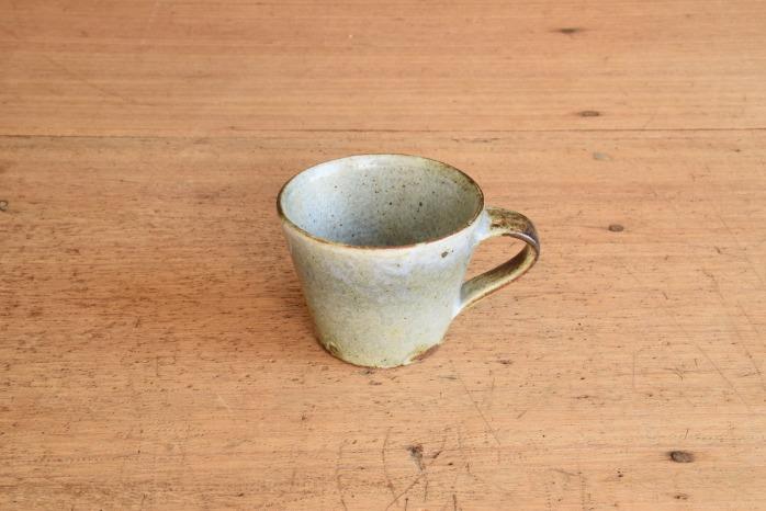 中村恵子|青粉引マグカップ(小)
