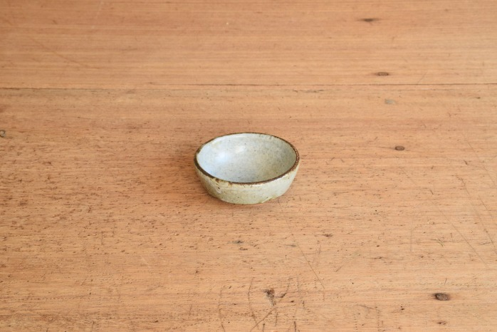 中村恵子|青粉引バスク鉢(豆)