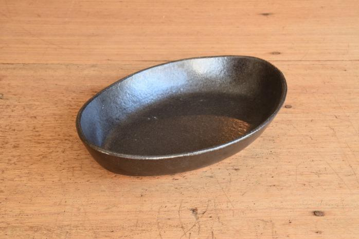 中村恵子|黒楕円深鉢