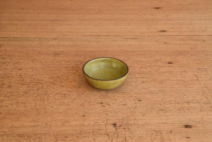 中村恵子|深緑バスク鉢(豆)