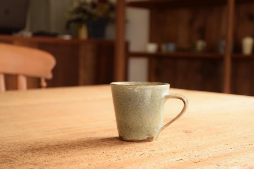 中村恵子|青粉引マグカップ