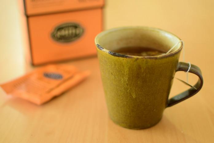 アメリカ土産のお茶