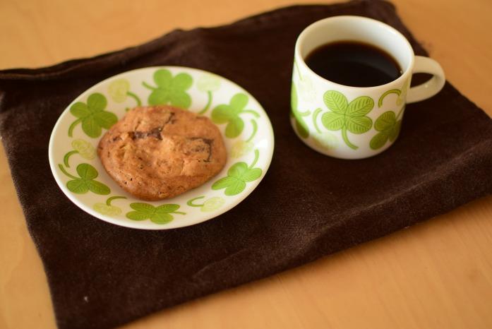 Café shozoのコーヒーとクッキー