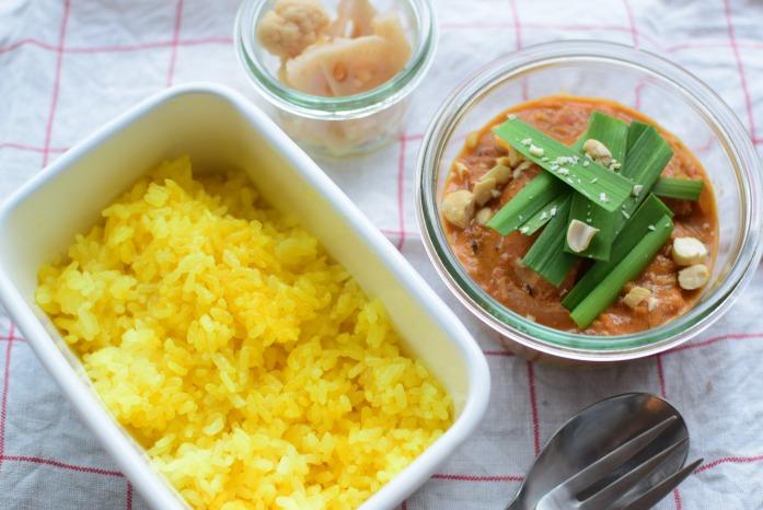 そうこのお弁当:12月30日(水)|バターチキンカレー弁当