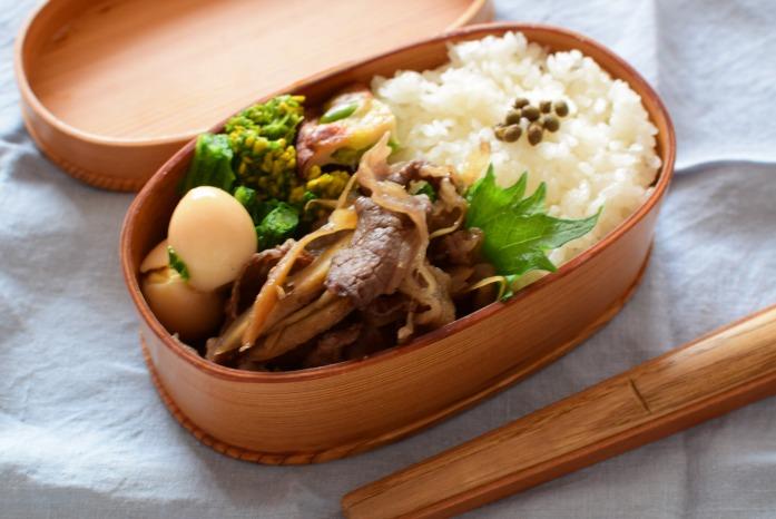 そうこのお弁当:2月22日(月)|牛肉のしぐれ煮弁当