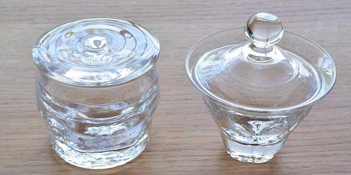 沖澤康平さんのガラスのうつわ達