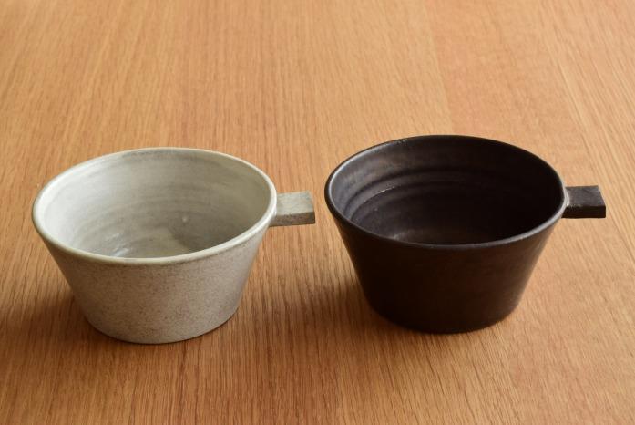 戸塚佳奈|白片手鉢(中) 色違い