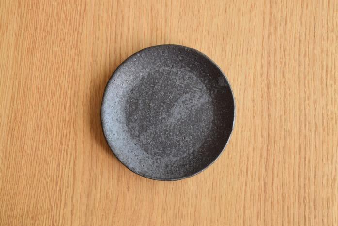 石川若彦|黒プレート(No.2)  俯瞰・表