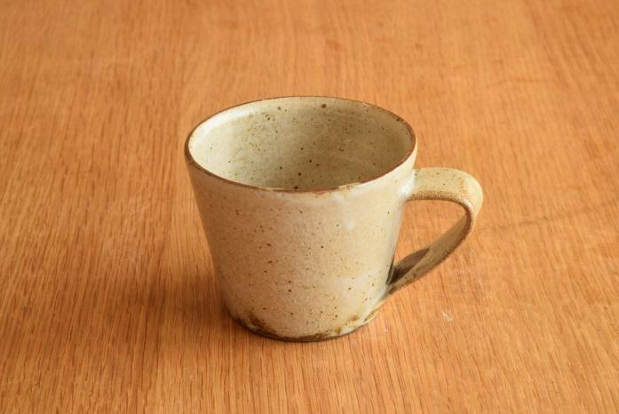 中村恵子|粉引マグカップ(小) 定番のマグのちょっと小さめサイズ登場!