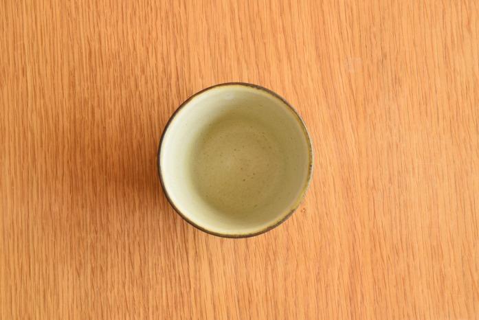 中村恵子|深緑そばちょこ 俯瞰・上