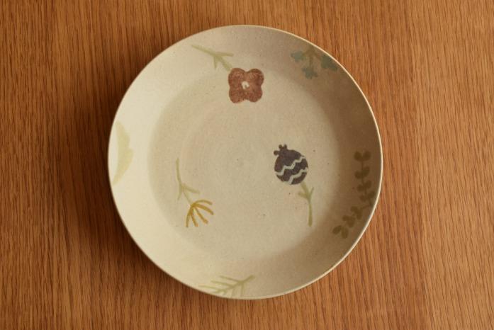 沖澤 真紀子|ホワイトRondoリム皿