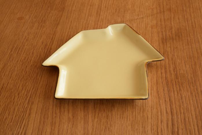 照井壮|プリン釉いえ皿 個展出展作品なので限定品です。