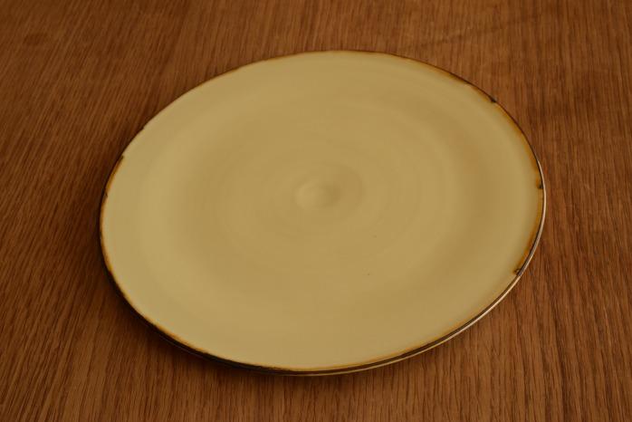 照井壮|プリン釉盤皿(7寸) 個展出展作品なので限定品です。