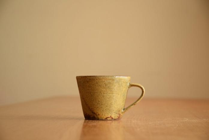 中村恵子|黄マグカップ(小) 水平