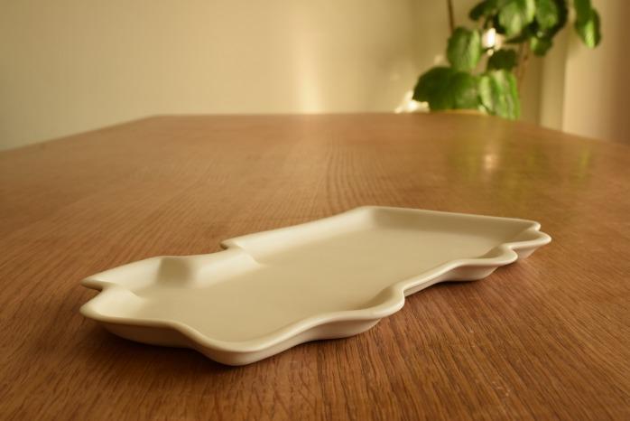 照井壮|きかんしゃ皿 水平