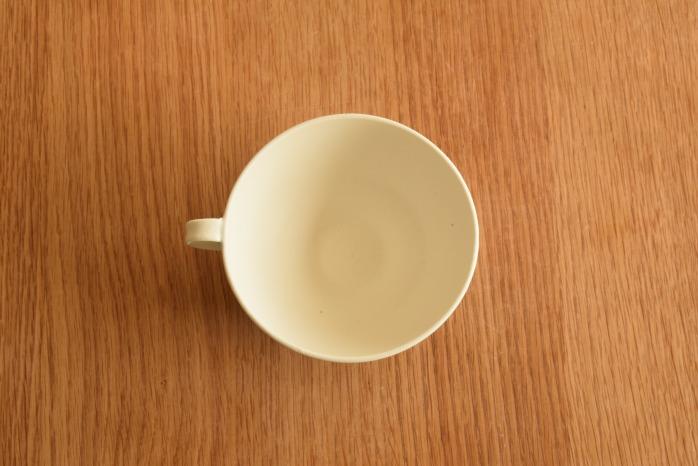 照井壮|青線刻スープ碗 俯瞰・表