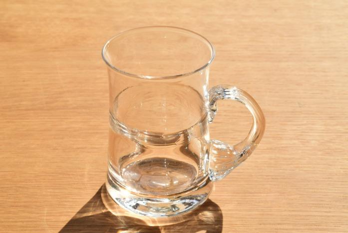 沖澤 康平|片手グラス 正面 展示用に作っていただいた作品となります。