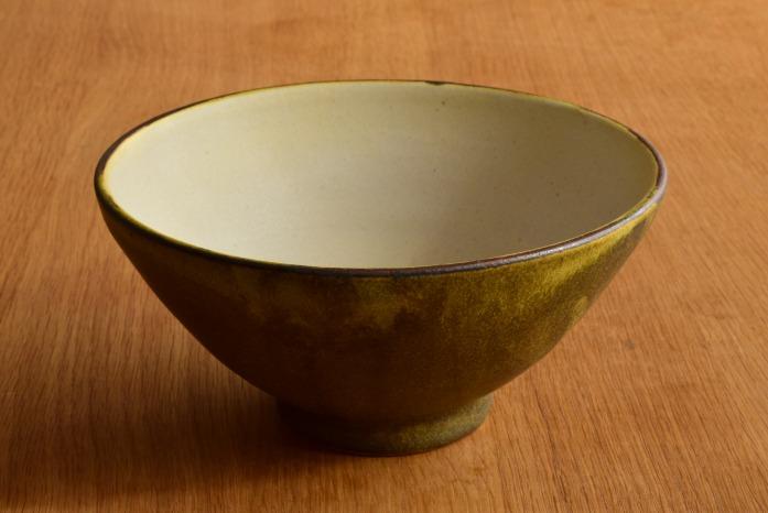中村恵子|深緑丼鉢