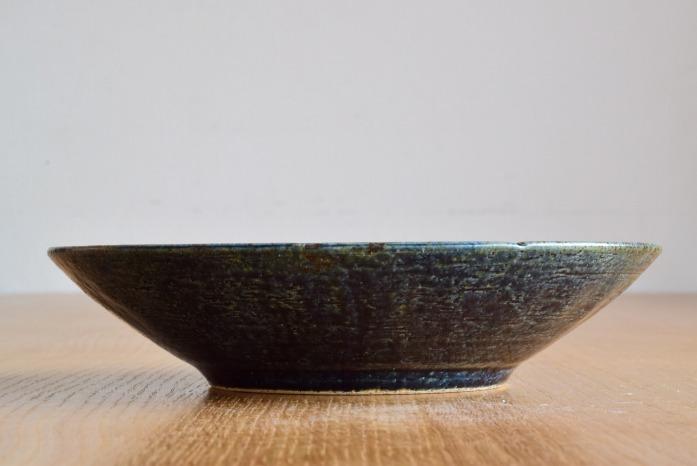 中村恵子|インディゴ鉢(7寸) 正面