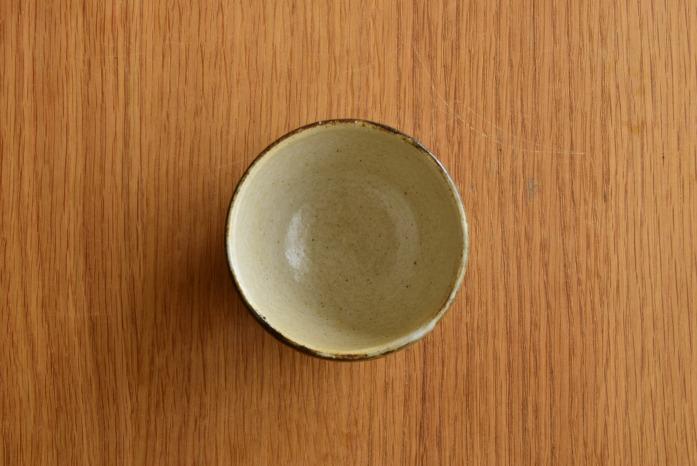 中村恵子|黒丸湯呑 俯瞰・表