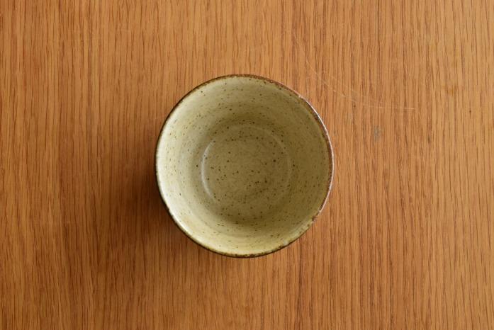 中村恵子|黒そばちょこ 俯瞰・表