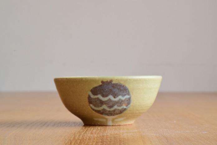 沖澤 真紀子|グリーンHana茶碗A 水平① 二人展の際の作品となります。