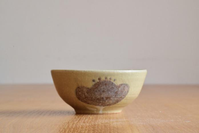 沖澤 真紀子|グリーンHana茶碗C 水平① 二人展の際の作品となります。
