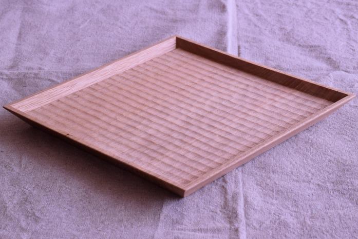 Semi-Aco 加賀雅之|7寸皿(オニグルミ) 正面 使い方は自由!あたたかい木のお皿