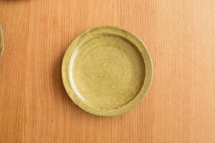 中村恵子|黄プレート(S)  俯瞰・表