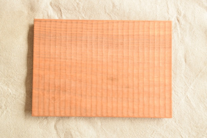 Semi-Aco 加賀雅之|pan皿(オニグルミ) 俯瞰 表