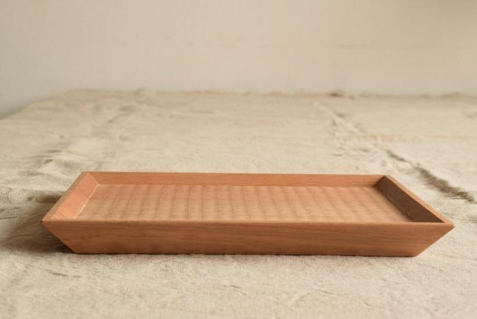 Semi-Aco 加賀雅之|7寸皿(オニグルミ) 水平