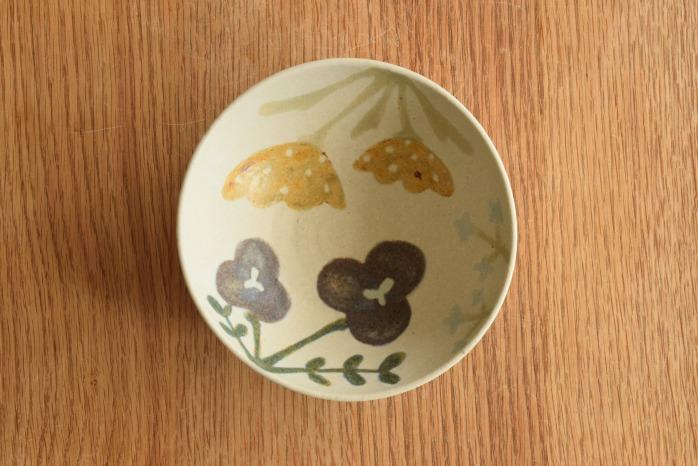 沖澤 真紀子|ホワイトHana Bowl(S)