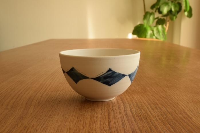 照井壮|ダイヤ紋ボウル鉢(小)鉢 水平