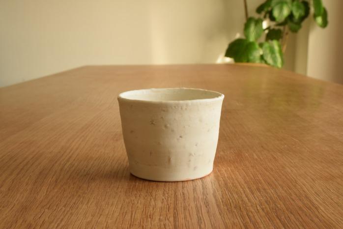 照井壮|極粗磁土フリーカップ 水平