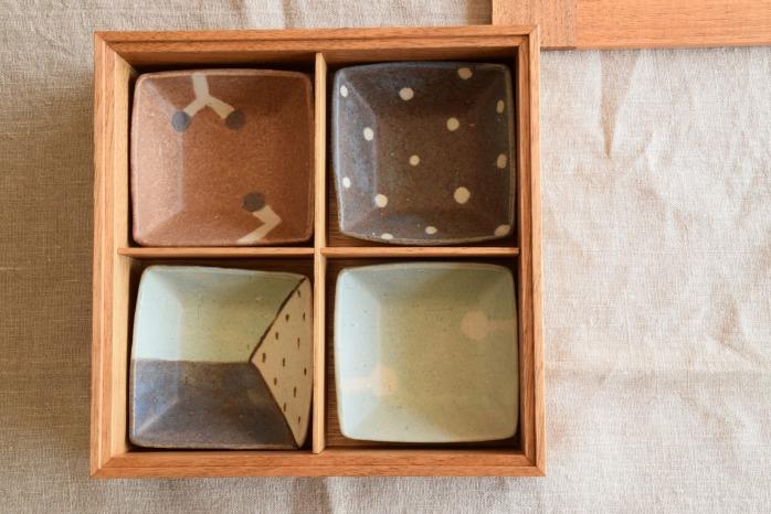 kinoworkshop|重箱(1段)正面 こんなお重が欲しかった!無垢材でできた重箱です