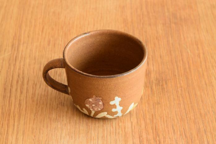 沖澤 真紀子|茶la paix マグ 個展の際の作品となります。