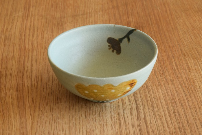 沖澤 真紀子|ブルーHana茶碗B