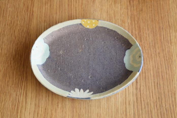 沖澤 真紀子|楕円皿
