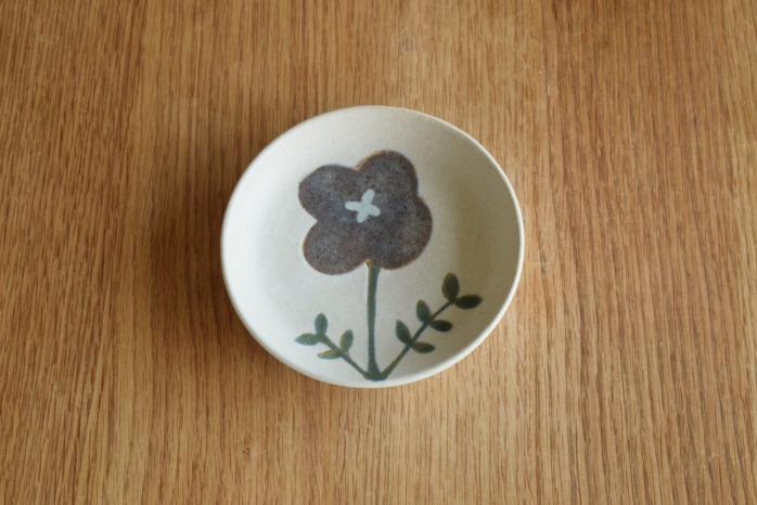 沖澤 真紀子|ホワイトおつまみ皿C