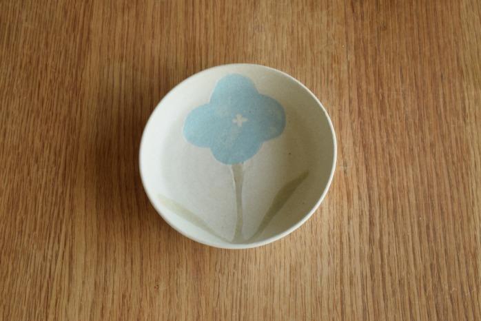 沖澤 真紀子|ホワイトおつまみ皿A個展の際の作品となります。