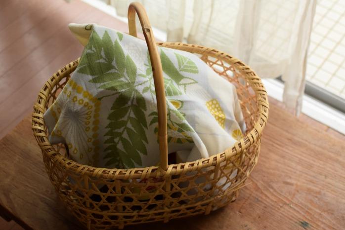 十布|ハンカチ白熊と植物(グレー・M)  お弁当箱と②