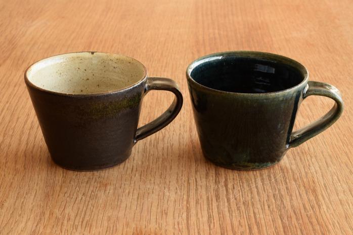 中村恵子|インディゴマグカップ 色違い